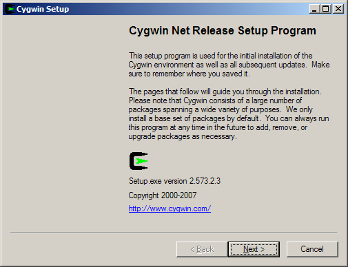 cygwin 64