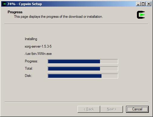 Setting Up Cygwin/X