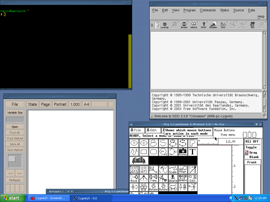 Windows10up.com Download Free Cygwin X running without window decoration with the openbox window