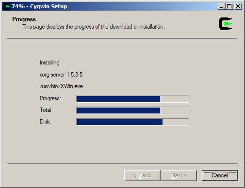 Setting Up Cygwin/X